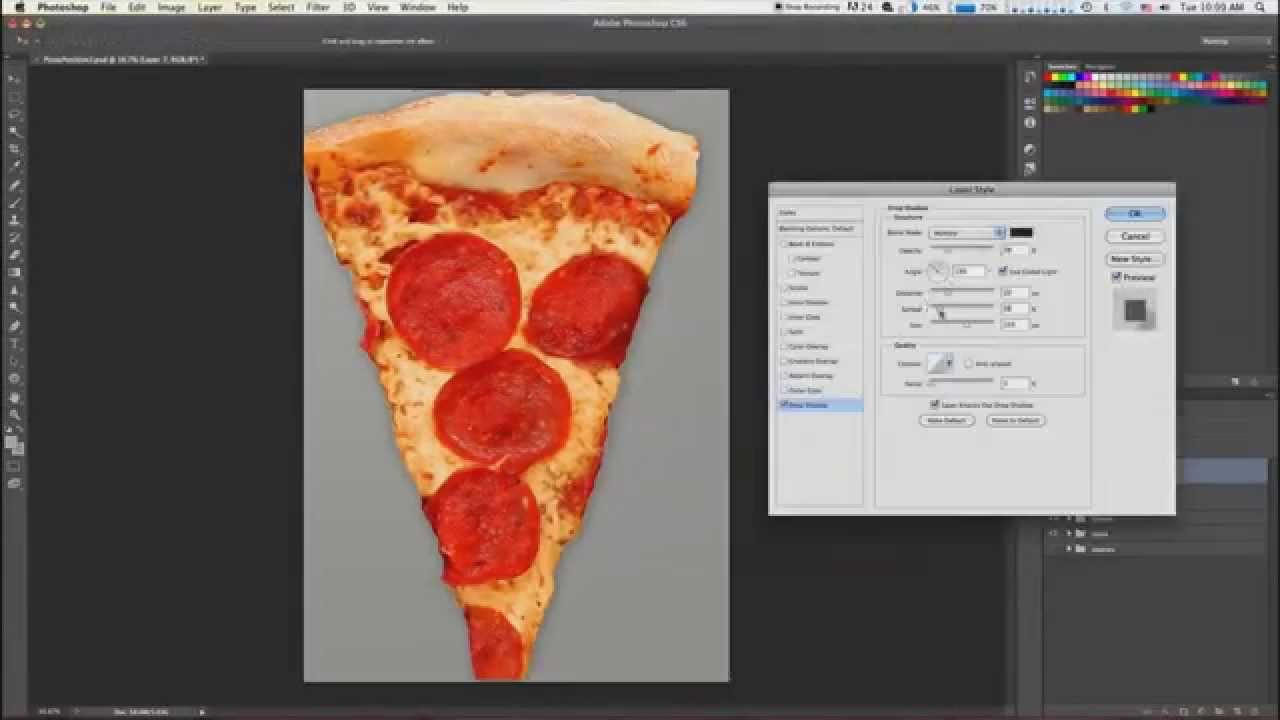 Photoshop Turns Pizza Into Woman - YouTube
