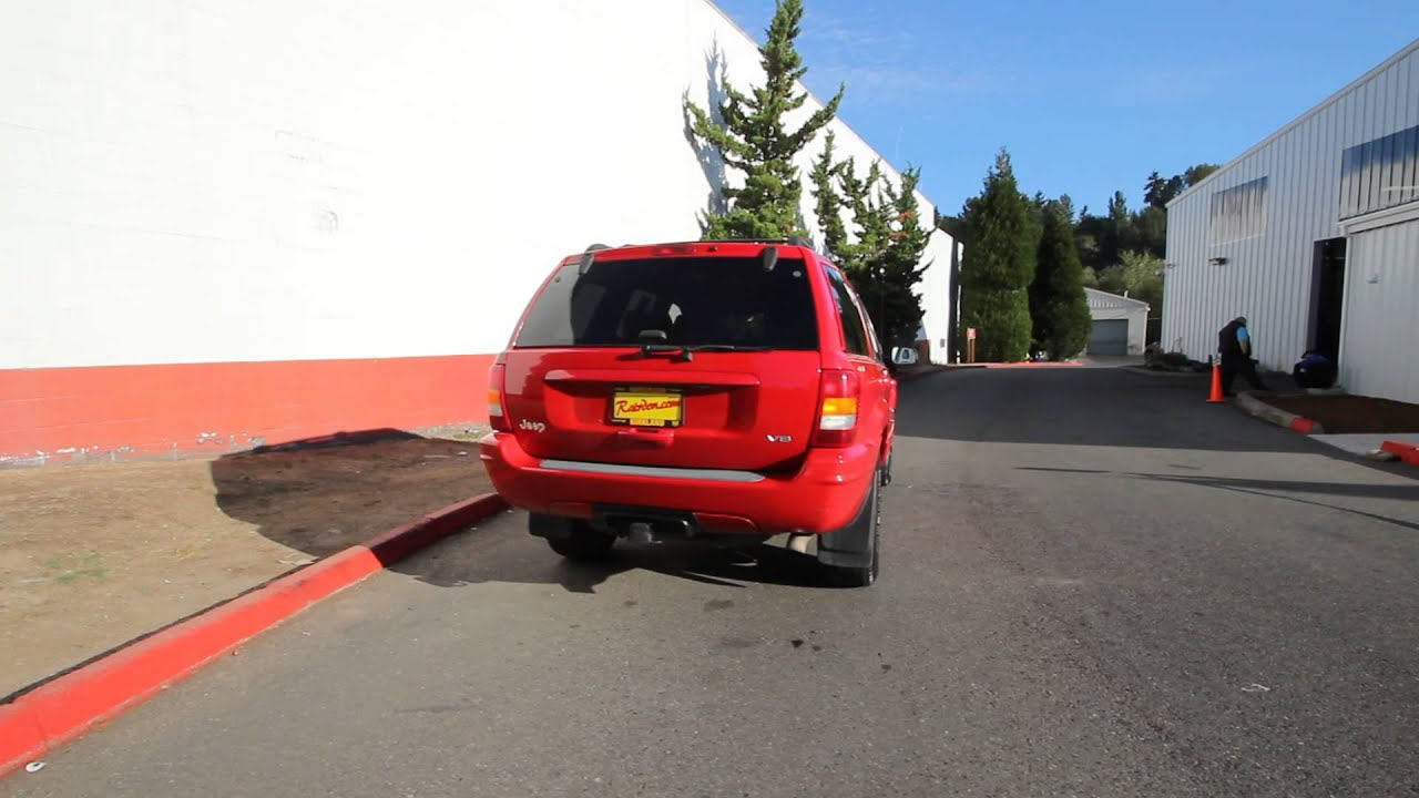 2000 Jeep Grand Cherokee Limited | Flame Red | YC264126R | Redmond |  Seattle |