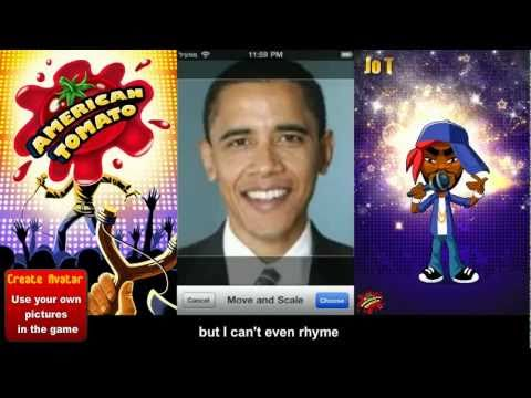 American Tomato - iPhone Game Trailer