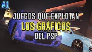 Juegos que explotaban al MÁXIMO los GRÁFICOS del PSP | Parte 1 | luigi2498