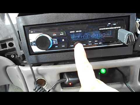 How to set FM  channel in Polarlander JSD-520 BLUETOOTH MP3 player $20 Radio
