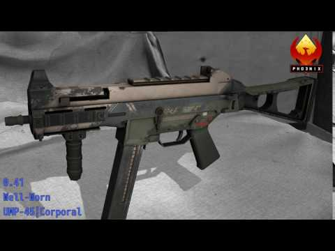 UMP-45 Corporal - Skin Wear Preview