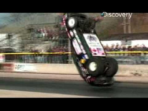 Adrenaline Rush Drag Car Flips