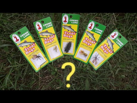 CREME LURE Trout Bugs | Do They Work? Surprising Results + Giveaway