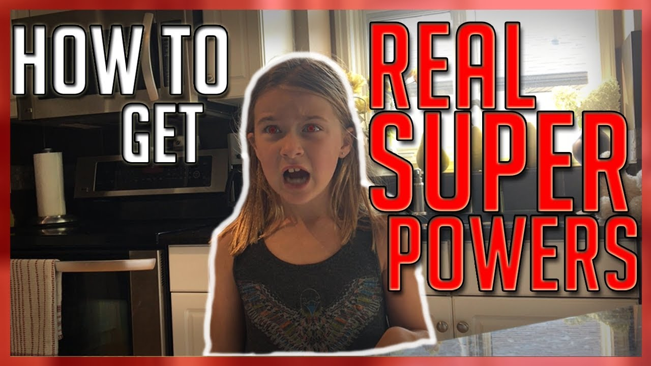 HOW TO GET REAL SUPER POWERS! SEE THROUGH STUFF! WITH PROOF