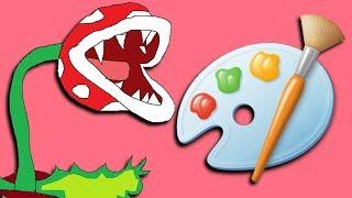 Smash Ultimate In Microsoft Paint 3