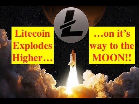 Litecoin Explodes Higer as Mass Global Crypto Adpotion Looms!! (Bix Weir)