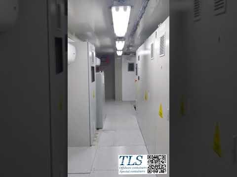 40ft offshore mcc shelter inside