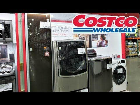 COSTCO SHOPPING NEW HOME APPLIANCE WALK THROUGH 2019