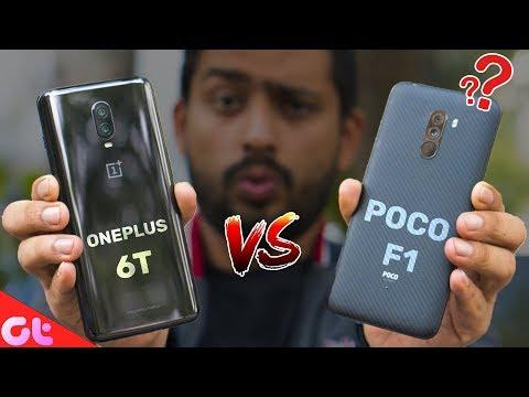Poco F1 vs OnePlus 6T Full Comparison - The Correct Math Done