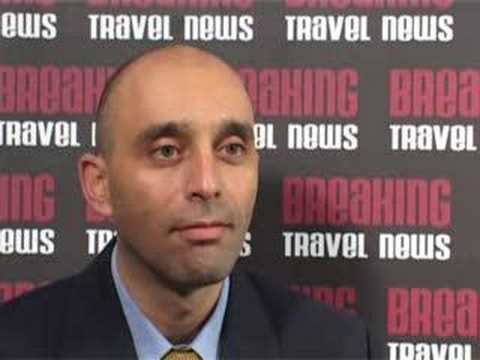 Shaul Zemach, Director General, Israel Ministry of Tourism @ WTM 2007