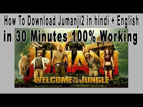 "[Hindi][English] How To Download ""jumanji 2 Welcome To The Jungle In 30 Minutes 100% Wroking"