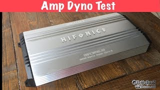 Is That 3kW RMS or MAX? HiFonics Brutus BRX3016.1D 3000 watt Amp Dyno Test