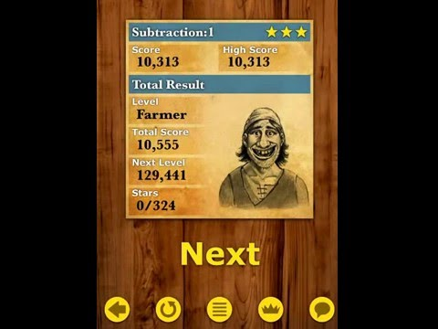King Of Maths iOS Gameplay