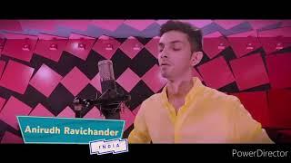 Andha kanna paathakka Anirudh version FULL video, MASTER