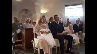 Battesimo di SAR la Principessa Maria Chiara di Borbone delle Due Sicilie