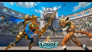 Lords Mobile - Solo trap VS rally 1.5 b player (Лордс Мобайл - Соло ловушка против сбора 1.5 лярда)