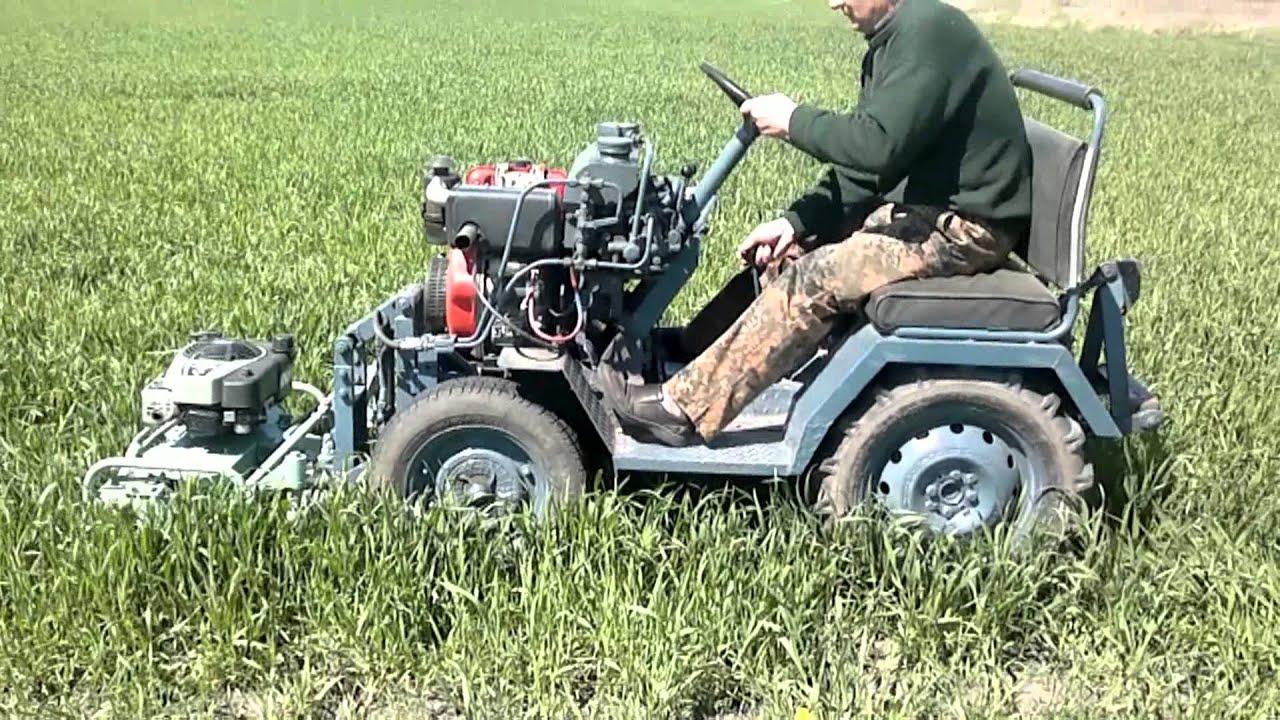 Cамодельная роторная косилка: пошаговая инструкция