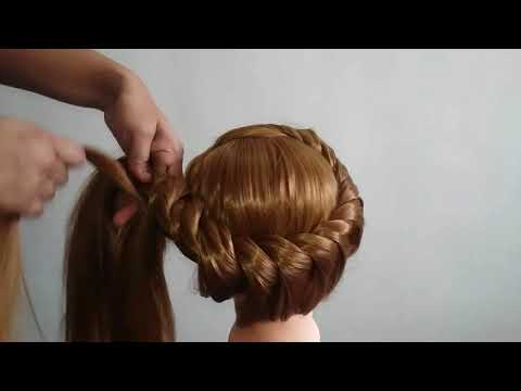 Pretty Hairstyle for Wedding