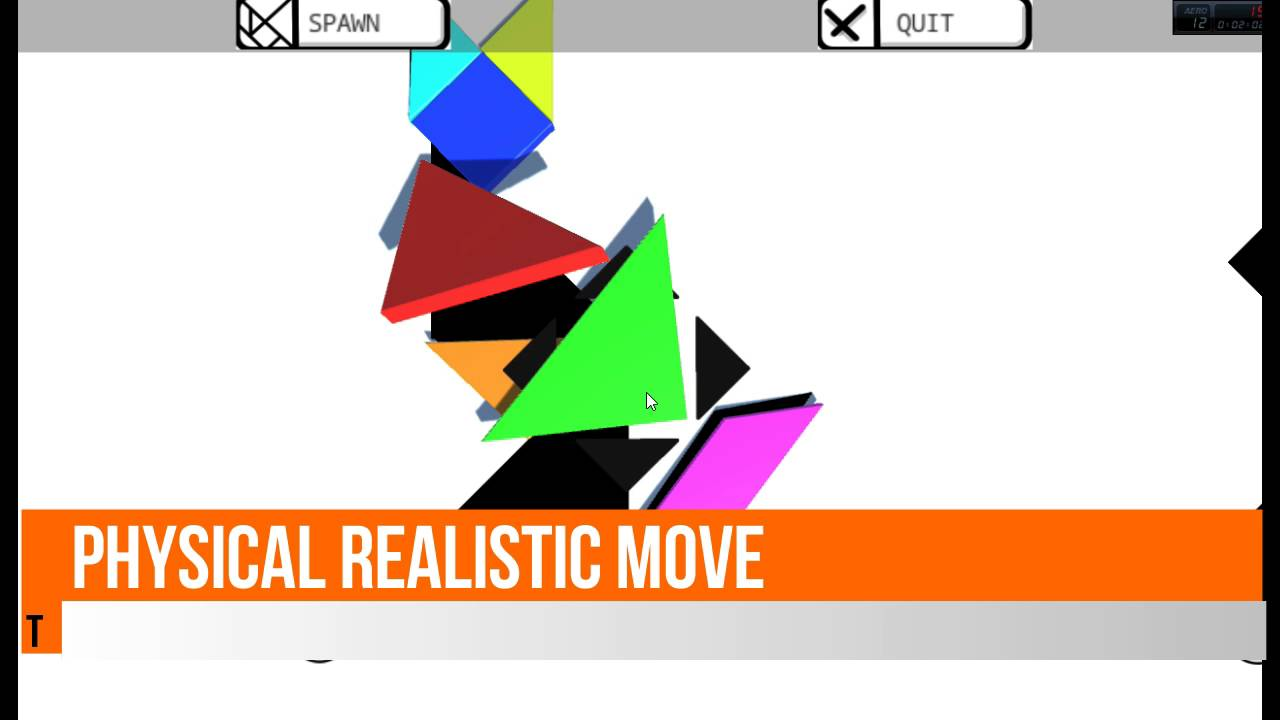 Tangram 3D game realistic Unity 3D asset store package build your game