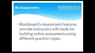 30 Minutes de Bb Webinaire: Comment Créer et Gérer Blackboard Évaluations