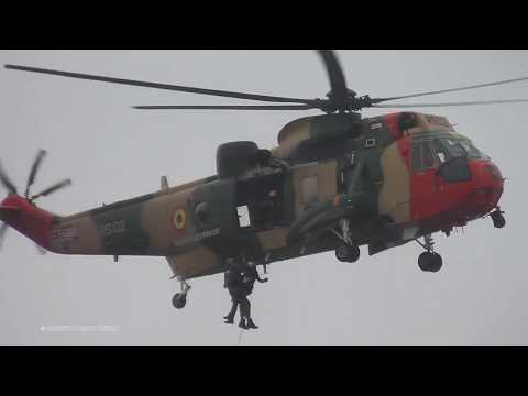 RIAT 2017 - Belgian Air Force Westland Seaking Mk. 48 Rescue Demonstration