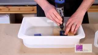 Tutorial... Drilling a Hole in Glass using a Dremel