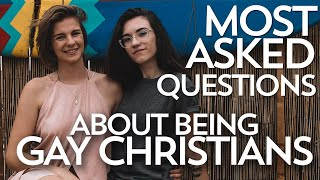 GAY AND CHRISTIAN?? MOST ASKED QUESTIONS || Angel & Nicole