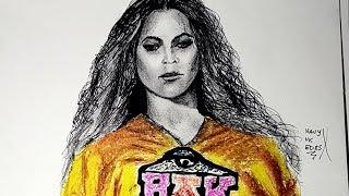 Beyonce BEYCHELLA Drawing Timelapse