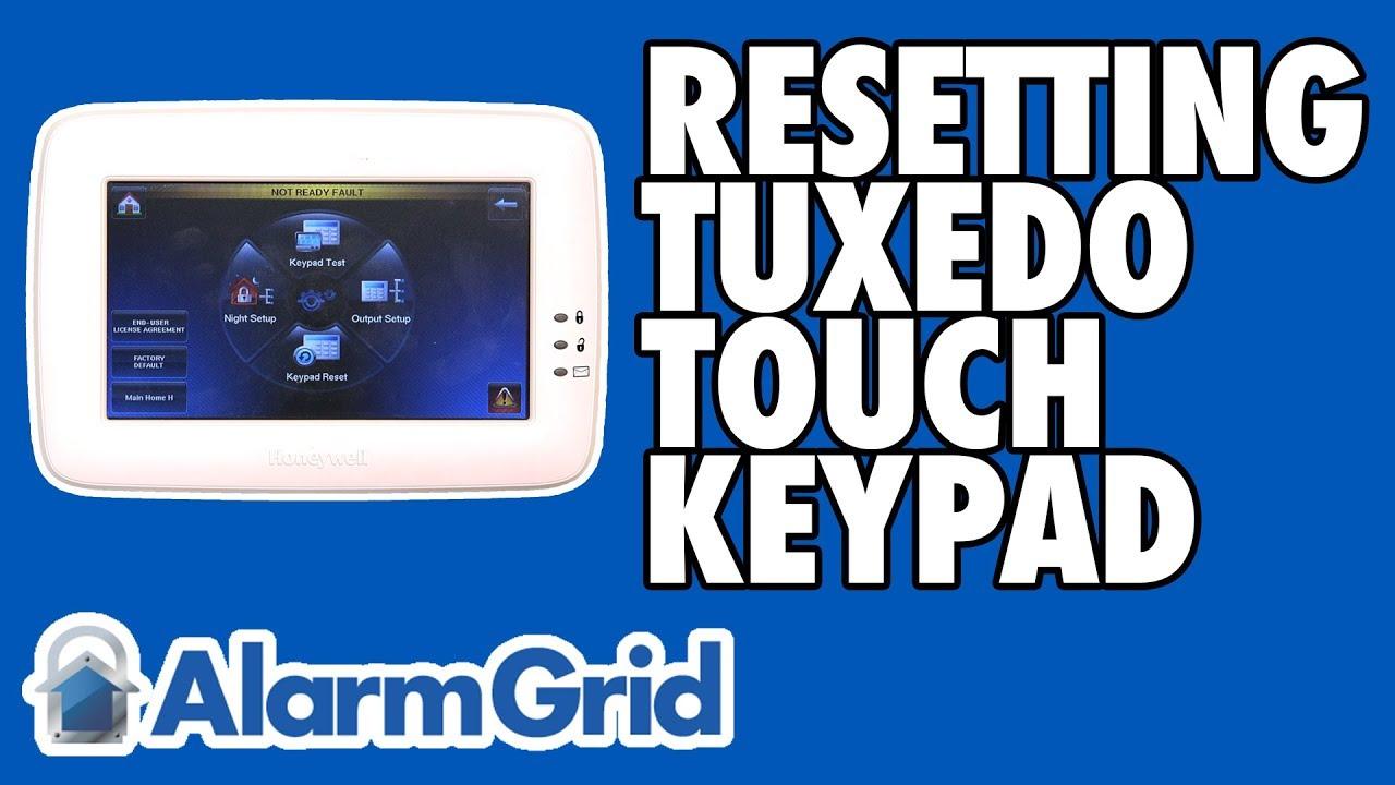 How Do I Reset a Tuxedo Keypad? - Alarm Grid