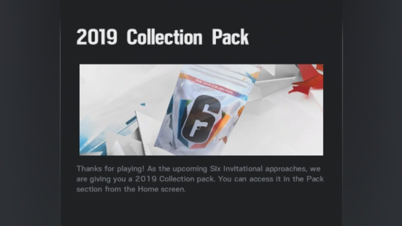 R6 Siege 2019 Collection Pack Leak Invitationals All Operator Gears  Uniforms Charms Skins Opening