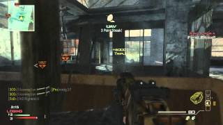 Triple Javelin Kill on Dome MW3 Glasweg1an
