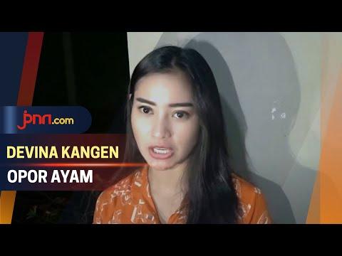 Sering Buka Puasa di Lokasi Syuting, Devina Kangen Opor Ayam