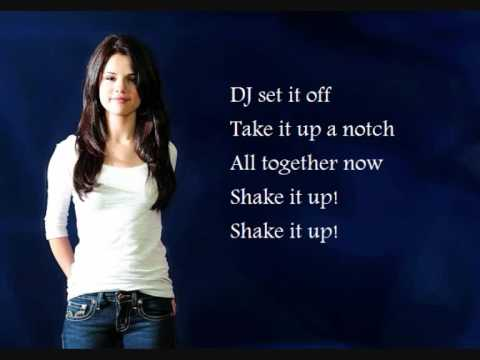 Selena Gomez || Shake it up || Shake it up theme s...