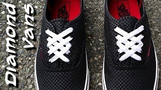 ♦♦♦♦♦How to Diamond lace Vans♦♦♦♦♦