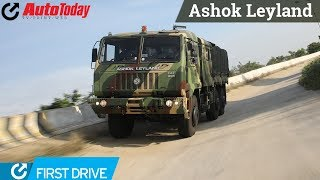 Ashok Leyland FAT 6X6 | First Drive |  AutoToday