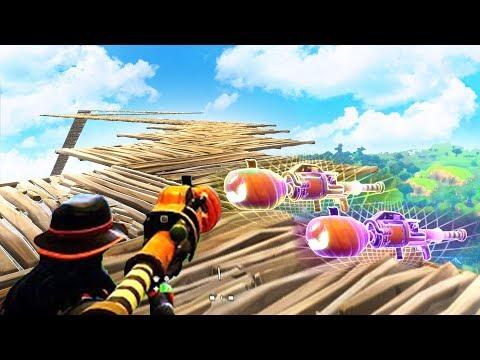 TRIPLE PUMPKIN LAUNCHERS! 20+ KILL WIN! (Fortnite Battle Royale)