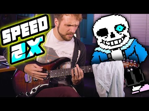 HOW FAST CAN I PLAY MEGALOVANIA??