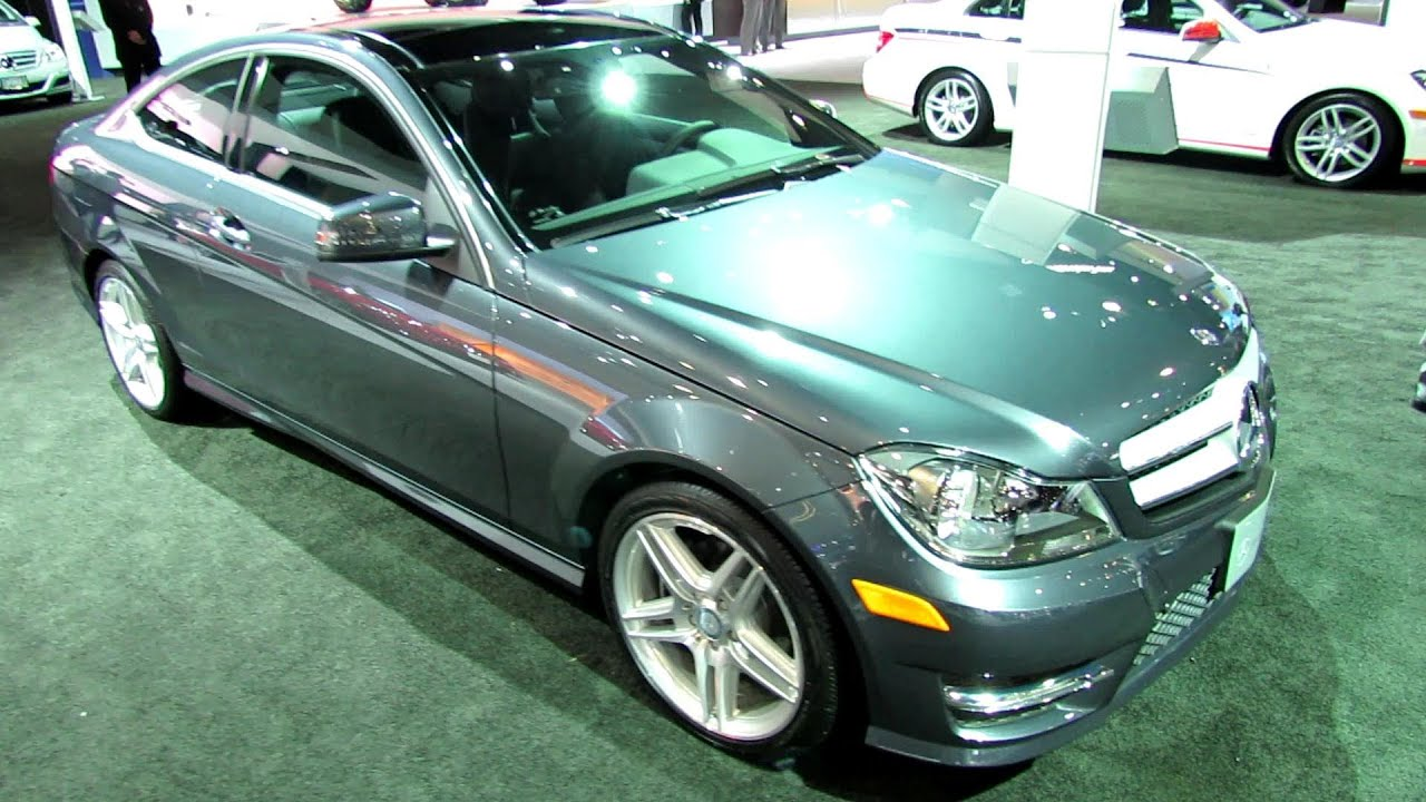 2013 mercedes benz c250 coupe exterior and interior walkaround 2012 los angeles auto show. Black Bedroom Furniture Sets. Home Design Ideas