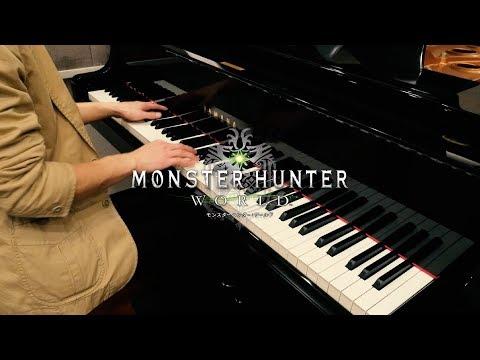 【MHW BGM】Rotten Vale Battle Theme 【Piano Cover】