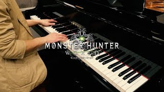 【MHW BGM】瘴気の谷 【Piano Cover】Rotten Vale Battle Theme