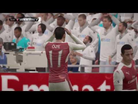 Fifa17 Premier League (Arsenal VS. Swansea City AFC)