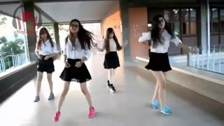 Thai student dance រាំញីកែងជើង  ងួន ចាន់ដេវិត Rorm Nhi kaeng Cherng Dance style ក្បាច់រាំ