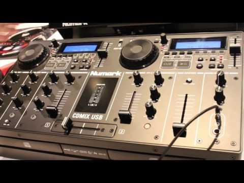 [NAMM 2016] Numark CD Mix USB & Mixdeck Express Video Talkthroughs