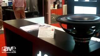 InfoComm 2015: Eighteen Sound Displays 15NCX75OH High Output Neodymium Coaxial Transducer