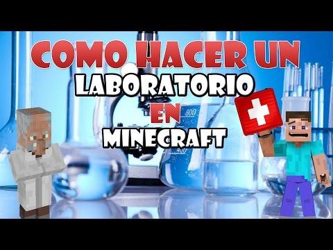 Como Hacer Un Laboratorio En Minecraft