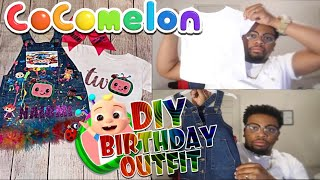 How to make a Cocomelon Custom Birthday Outfit with Cricut Easypress!