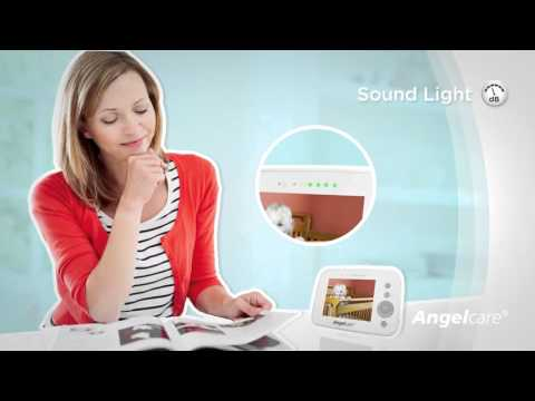 """Монитор движения + видеоняня с 3,5"""" LCD дисплеем Angelcare AC1300, витринный экземпляр. Видео №1"""