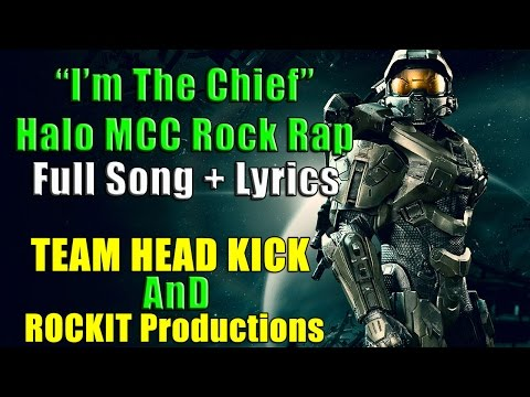 I'M THE CHIEF - HALO ROCK RAP | TEAMHEADKICK (Lyrics)