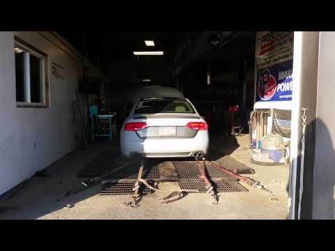 2012 Audi B8 A4 K04 + Meth APR 100 Oct Dyno run